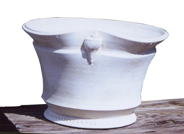 Clay Trout Pottery, Custom Plant containers/White Clay Pots